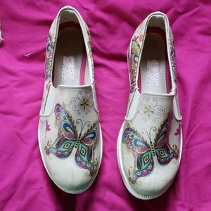 Goby butterfly platform shoes